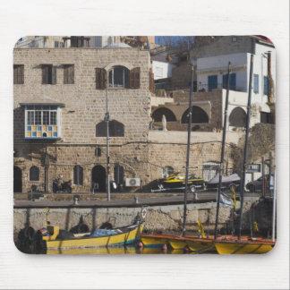 Israel, Tel Aviv, Jaffa, Jaffa Old Port Mouse Mat