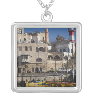 Israel, Tel Aviv, Jaffa, Jaffa Old Port Silver Plated Necklace