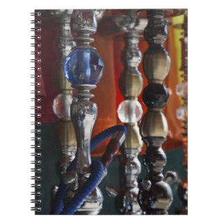 Israel, Tel Aviv, Jaffa, sheesha water pipes Notebook