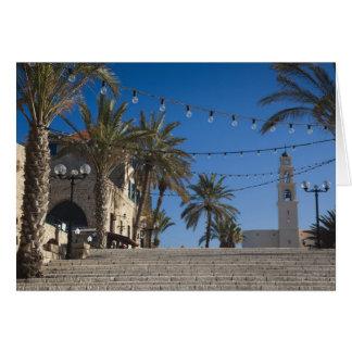 Israel, Tel Aviv, Jaffa, stairs, Old Jaffa Card