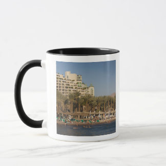 Israel, The Negev, Eilat, Red Sea beachfront 2 Mug