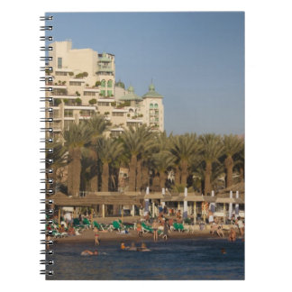 Israel, The Negev, Eilat, Red Sea beachfront 2 Notebooks