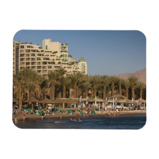 Israel, The Negev, Eilat, Red Sea beachfront 2 Rectangle Magnets