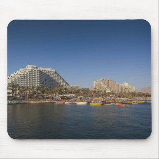Israel, The Negev, Eilat, Red Sea beachfront Mouse Mat