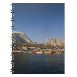 Israel, The Negev, Eilat, Red Sea beachfront Notebooks