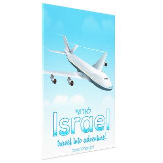 "Israel "" Travel into Adventure"" Canvas Print"