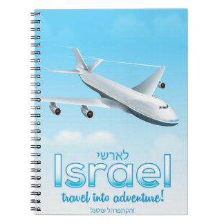 "Israel "" Travel into Adventure"" Notebook"