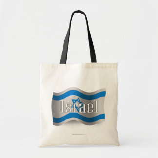 Israel Waving Flag Tote Bag