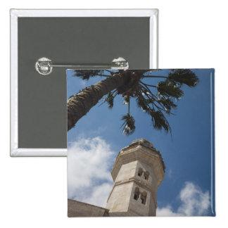 Israel, West Bank, Bethlehem, Mosque of Omar 15 Cm Square Badge