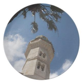 Israel, West Bank, Bethlehem, Mosque of Omar Plate