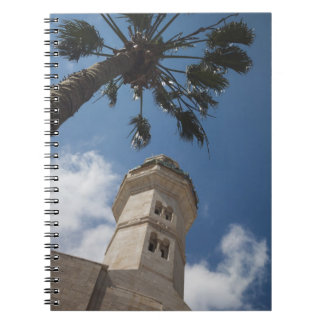 Israel, West Bank, Bethlehem, Mosque of Omar Spiral Notebook