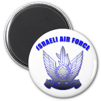 Israeli Air Force 6 Cm Round Magnet