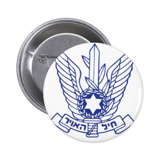 Israeli Air Force Emblem 6 Cm Round Badge