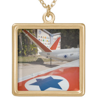 Israeli Air Force Museum Gold Plated Necklace