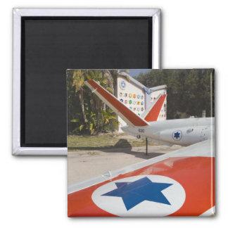 Israeli Air Force Museum Square Magnet
