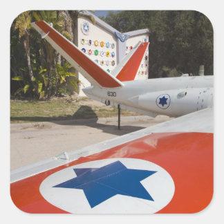 Israeli Air Force Museum Square Sticker