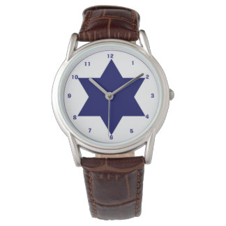 Israeli Air Force Roundel  Wrist Watch