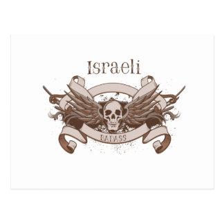 Israeli Badass Postcard