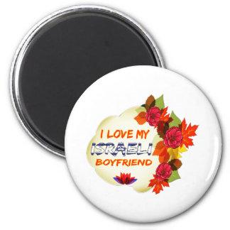 Israeli Boyfriend Design 6 Cm Round Magnet