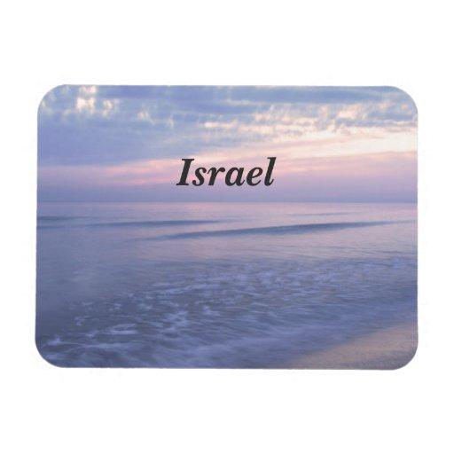 Israeli Coast Rectangular Magnets