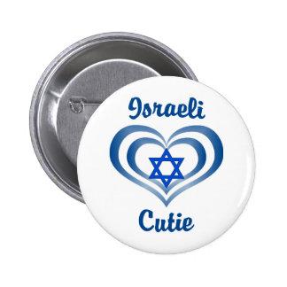 Israeli Cutie 6 Cm Round Badge