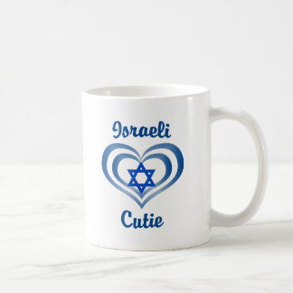 Israeli Cutie Basic White Mug