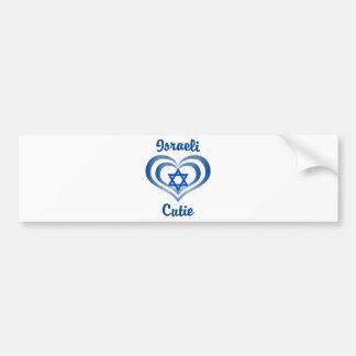 Israeli Cutie Bumper Sticker