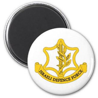 Israeli Defence Force 6 Cm Round Magnet