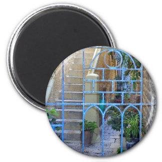 Israeli Door 6 Cm Round Magnet