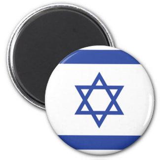 israeli Flag 6 Cm Round Magnet