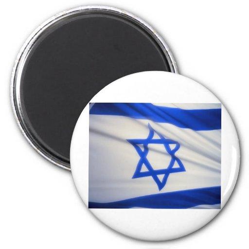 Israeli Flag Fridge Magnet