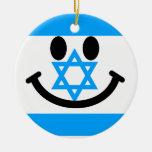 Israeli flag smiley face