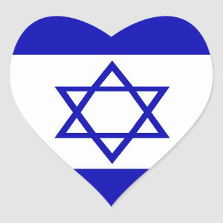 Israeli Flag Sticker