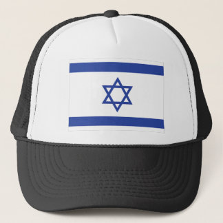 israeli Flag Trucker Hat