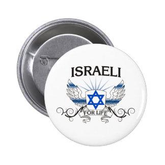 Israeli For Life 6 Cm Round Badge