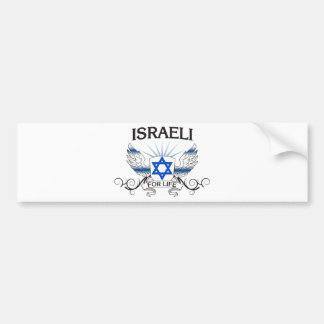 Israeli For Life Bumper Stickers