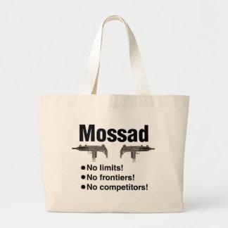Israeli Mossad, best intelligence agency of World Jumbo Tote Bag