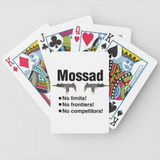 Israeli Mossad best intelligence agency of World Card Decks