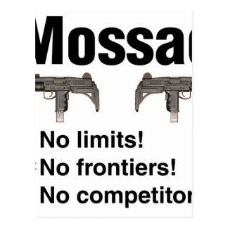 Israeli Mossad, best intelligence agency of World Postcard