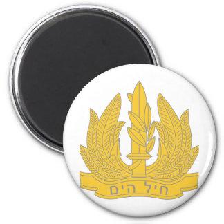 Israeli Navy 6 Cm Round Magnet