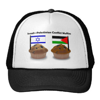 Israeli-Palestinian Conflict Muffins Cap