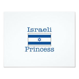 Israeli Princess 4.25x5.5 Paper Invitation Card