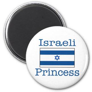 Israeli Princess 6 Cm Round Magnet