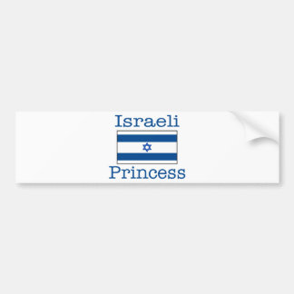 Israeli Princess Bumper Sticker