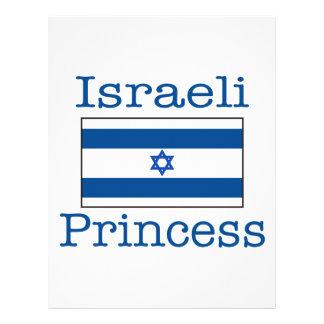 Israeli Princess Flyer Design