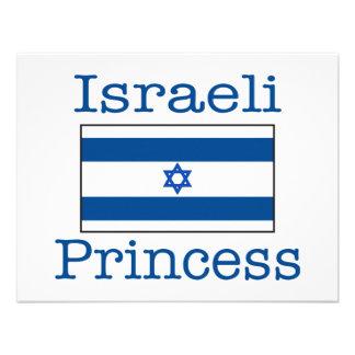 Israeli Princess Personalized Invitations