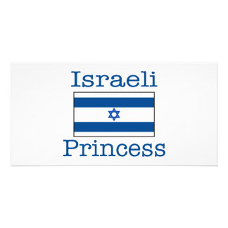 Israeli Princess Picture Card