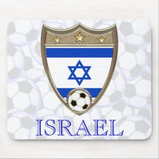 Israeli Soccer Mouse Pad