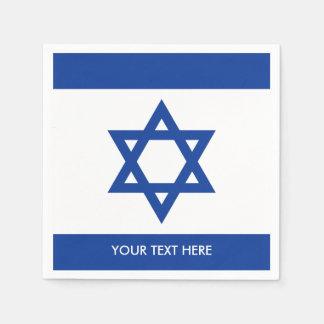 Israelian flag of Israel custom party napkins Disposable Napkin