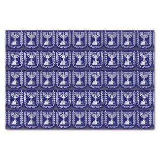 Israel's Emblem - Knesset Version Tissue Paper